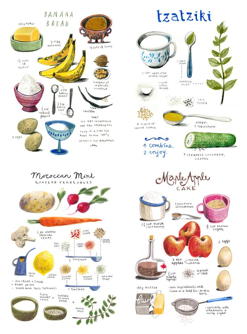 MoreIllustratedRecipes